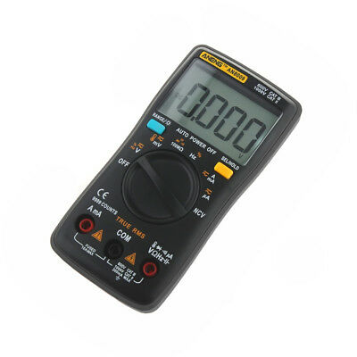 Electrical LCD Digital Clamp Meter Multimeter RMS AC/DC OHM Multi Tester 3 Color