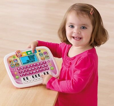 VTech Little Apps Tablet Pink Smart Music Piano Play Toy Baby Child Learn Activi