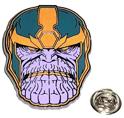 Avengers Infinity War Enamel Thanos Pin/Brooch - Licensed - New, Mint Condition