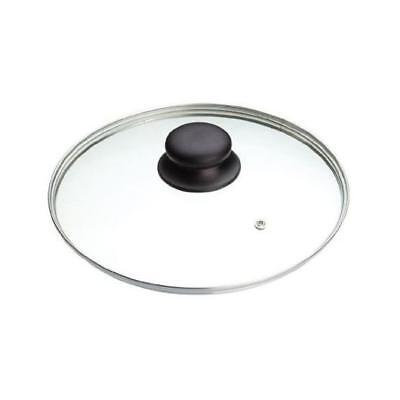 Glass Lids Saucepan Wok Frying Pan Lid 14 16 18 20 22 24 26 28 30 32 34 36 40cm