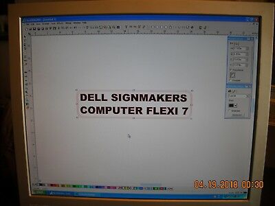 Dell Sign Makers Computer - Connect To Your Cutter And Go, Full Compliment Logos