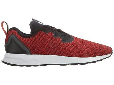 c5a3e72c0 Adidas ZX Flux ADV Asymetric Mens S80544 Red Black Knit Running Shoes Size  10