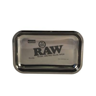 RAW Rolling Papers 24 KARAT BLACK GOLD TRAY Small Size - RARE and LIMITED