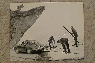 1961 Porsche 356-B T5 Coupe Print, Picture, Poster, VERY RARE!! Awesome L@@K