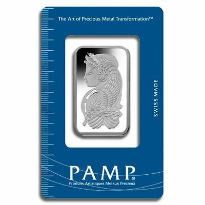 Platinum Pamp Suisse Fortuna 1 oz Bar | Sealed in Certicard