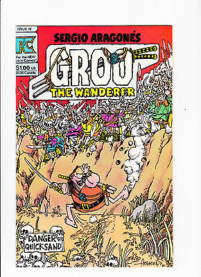 Groo The Wanderer   Vol.2 No.2    :: 1983 ::   :: Danger Quicksand Cover ::