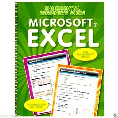 Beginner's Guide To Microsoft Excel : WH3 : PBL123 : NEW BOOK