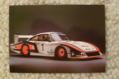 Porsche Factory Museum Postcard 1978 935/78 Coupe, Unusual, RARE!! Awesome L@@K