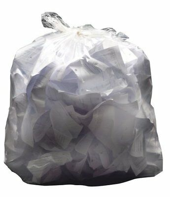 Q Connect 2work Swing Bin Liner - White Pack of 1000
