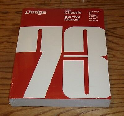 1971 dodge chassis service shop manual 71 challenger charger dart rh picclick com 1973 Challenger 1973 Challenger