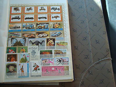 MIDDLE EAST - 33 stamps canceled (all state) stamp