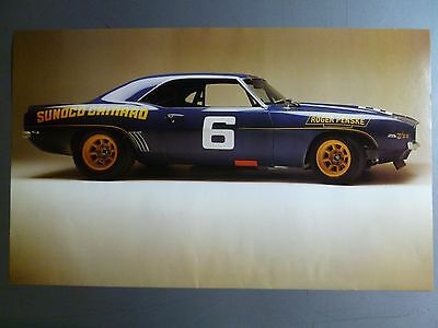 1969 Chevrolet Camaro Coupe Race Car Picture, Print, Poster RARE!! Awesome L@@K