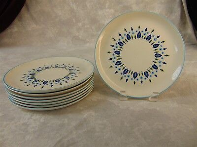 MARCREST Swiss Alpine Luncheon Plates Set of 8