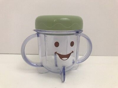 Baby Bullet Storage Cup REPLACEMENT Short Cup w/ Lid BB-101 Food System