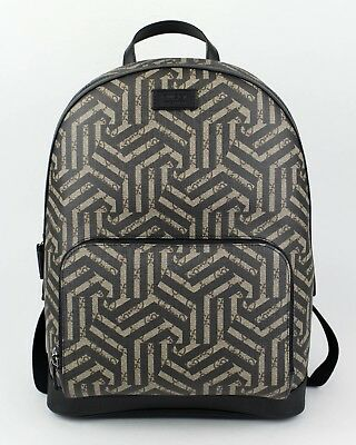 676d94ce169 NWT GUCCI Black Brown GG Caleido Leather Backpack  1480