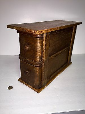 """Antique Sewing Machine Drawers """"Re Purposed"""" Into a Small Cabinet Look!"""