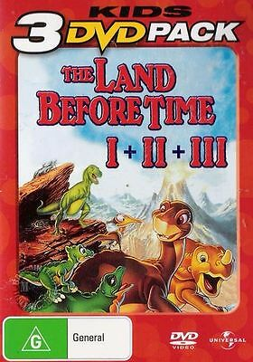 The Land Before Time 1 2 3 : New Dvd