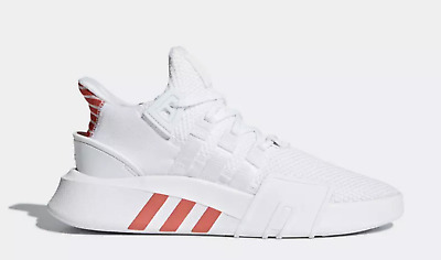 best service 3ca89 74c08 NEW adidas Originals EQT BASKETBALL BASK ADV SHOES CQ2992 White Scarlet Red  a1