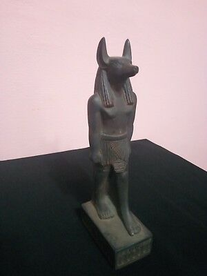 RARE ANTIQUE ANCIENT EGYPTIAN Sculpture Figurine Statue God Anubis 3100-2890 Bc