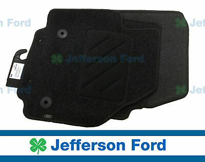 Genuine Ford  Mondeo Mc 08/12 Full Set Of 4 Tailored Carpet Floor Mats Black