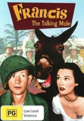 FRANCIS THE TALKING MULE DVD [New/Sealed]