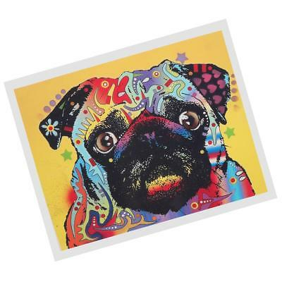 1 Panel Modern Abstract Art Painting Oil Print Painting on Canvas Poster Pug