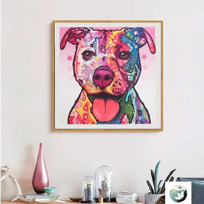 1 Panel Modern Abstract Art Painting Oil Print Painting on Canvas Poster Dog