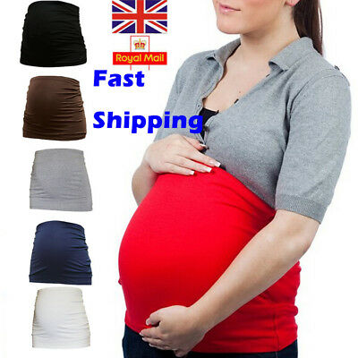 UK NEW Pregnancy Maternity Special Support Belt Back Bump Belly Waist Strap Band