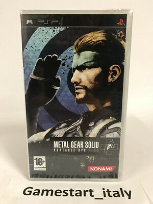 Metal Gear Solid Portable Ops Plus - Sony Psp - Nuovo Sigillato New Sealed Pal