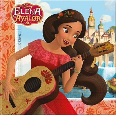 Pack De 20 Servilletas De Elena De Avalor (15621)