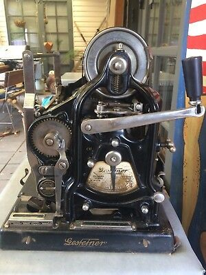 Vintage Gestetner  Duplicating Printer Machine