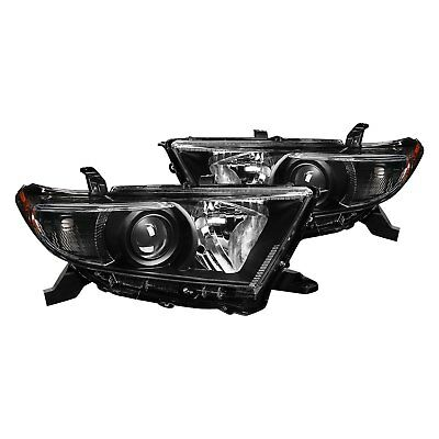 For Toyota Highlander 11-13 Lumen Black Factory Style Projector Headlights