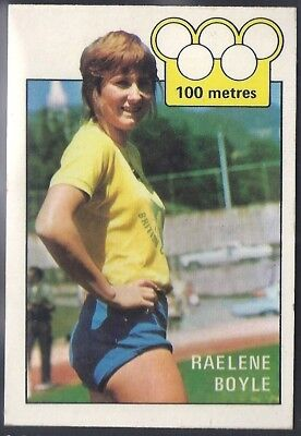 A&bc-Olympics (X36)1972-#20- Athletics - Raelene Boyle