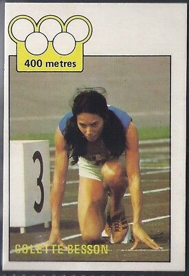 A&bc-Olympics (X36)1972-#29- Athletics - Colette Besson