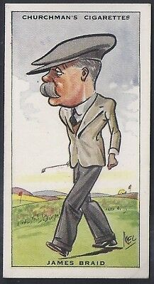 Churchman-Prominent Golf Ers (Standard Size)-#05- James Braid