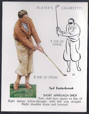 Players Overseas Issue-Golf (L25)-#15- Short Approach Shot - Syd Easterbrook