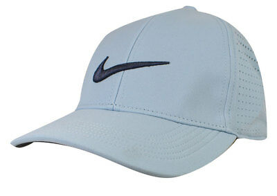 b4427550ad0 New Nike Golf- Legacy91 Perf Cap Hat Ocean Bliss Anthracite Thunder Blue  856831
