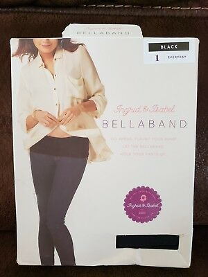 Bella Band By Ingrid And Isabel - Maternity - Black Size 1