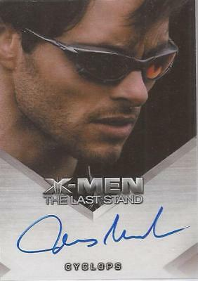 "X-Men 3 The Last Stand - James Marsden ""Cyclops"" Autograph Card"