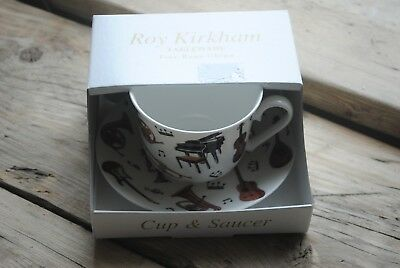 Roy Kirkham Fine Bone China Breakfast Cup and Saucer Concert Design/Gift 2007