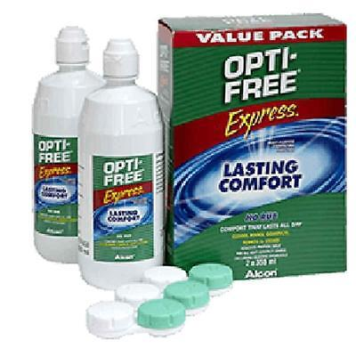 Alcon Opti-Free Express Value Pack 2 x 355ml Multi Purpose Disinfecting Solution