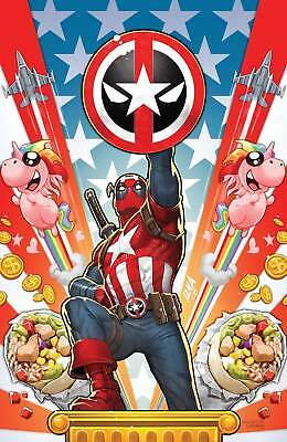 Captain America #701 Unknown Comic Books Virgin Deadpool Var 5/2/2018