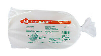 Cellulose Swabs nobazelltupf 1000 (2 x 500) Piece from nobamed