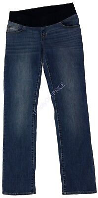 NEW Womens Maternity Denim Jeans Under Belly Liz Lange NWT 2 6 8 10 12 14 16 18