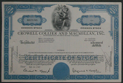 Lot 49 X The Crowell-Collier and Mcmillan, Inc. 1960er