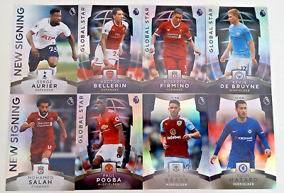Topps PLATINUM  Premier Soccer 2018 CARDS ICON New Signings Global stars 2017/18