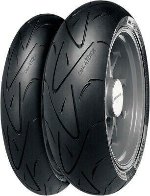 Continental 2443950000 Sport Attack General Replacement Tires 190/55ZR17