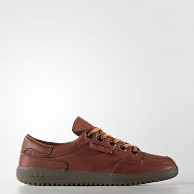 buy online 58af0 0dd3e ADIDAS ORIGINALS Brown Leather GARWEN SPEZIAL SPZL Sneakers Shoes MENS 12  46.66