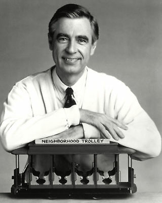 Fred Rogers Children'S Entertainment Education Icon 8X10 Quality Photo Print