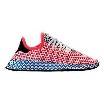 6589391a7 Women s adidas Originals Deerupt Runner Casual Shoes Solar Red Blue AC8466  RED